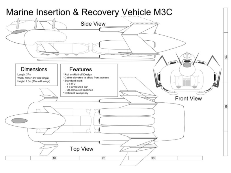 MIRV (Marine Insertion & Recovery Vehicle) M3C