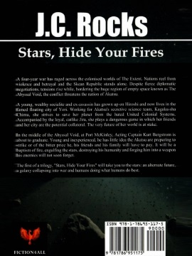 'Stars, Hide Your Fires' Front Cover